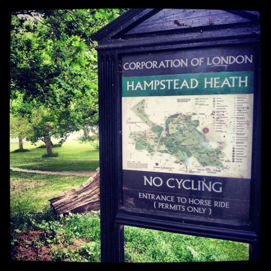 park w Londynie