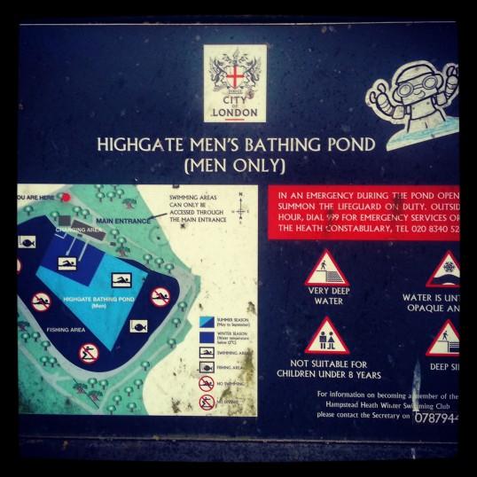 pływanie w Londynie